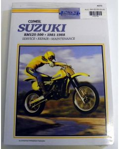 Suzuki 125/500 RM Shop Manual