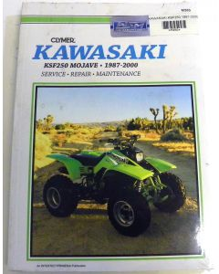 Kawasaki 250 KSF Shop Manual