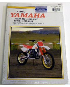 Yamaha 125/490 YZ Shop Manual