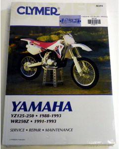 Yamaha 125/250Z Shop Manual