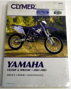 Yamaha 250F Shop Manual