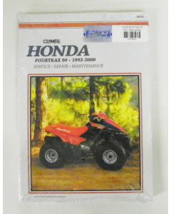 Honda 90 TRX Shop Manual