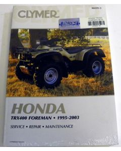 Honda 400 TRX Shop Manual