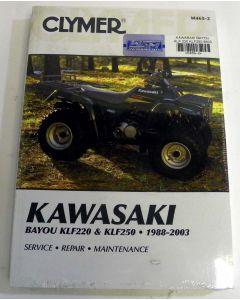 Kawasaki 220/250 KLF Shop Manual