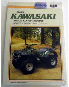 Kawasaki 400 KLF Shop Manual
