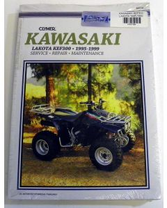 Kawasaki 300 KEF Shop Manual