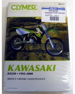Kawasaki 250 KX Shop Manual