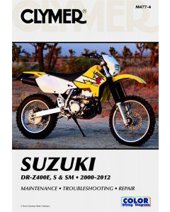 Suzuki 400 Shop Manual