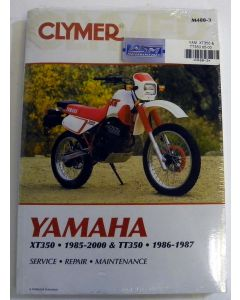 Yamaha 350 Shop Manual