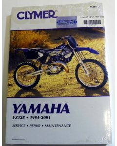 Yamaha 125 YZ Shop Manual