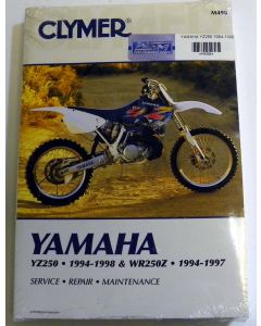 Yamaha 250 YZ Shop Manual