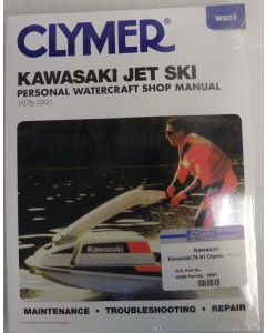 Kawasaki 300-650 1976-1991 Clymer Shop Manual