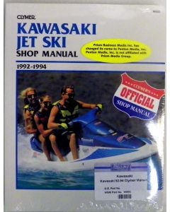 Kawasaki 440-750 1992-1994 Cylmer Shop Manual