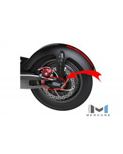 JB3-3B-L : JUBEL REAR ARM COVER BLACK LH