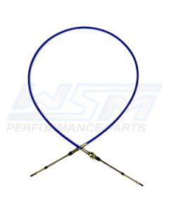 002-074 Steering Cable: Kawasaki 650 SX 87-90