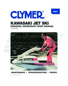 W801 Kawasaki 300-650 1976-1991 Clymer Shop Manual