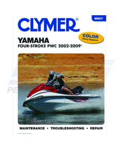 W807 Yamaha 1100-1200 Clymer Shop Manual