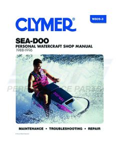 W809-3 Sea-Doo 580-800 1988-1996 Clymer Manuals