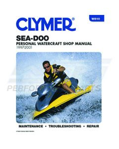 W810 Sea-Doo 720-951 1997-2001 Clymer Shop Manual