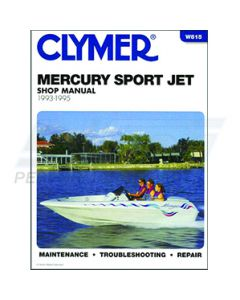 W815 Mercury 93-95 Sport Jet Clymer Manual