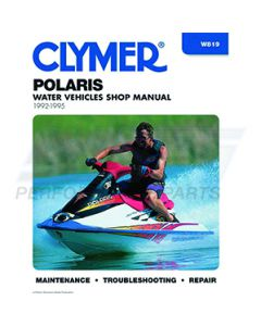 W819 Polaris 650-750 1992-1995 Cylmer Shop Manual