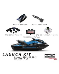 WR-GTR17-LK LAUNCH KIT Sea Doo GTR 230 2017+