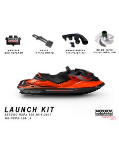 WR-RXPX-300-LK LAUNCH KIT Sea Doo RXPX 300 2016-2017