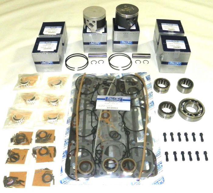 Mercury 175 Hp Sport Jet Power Head Rebuild Kit  010 Over