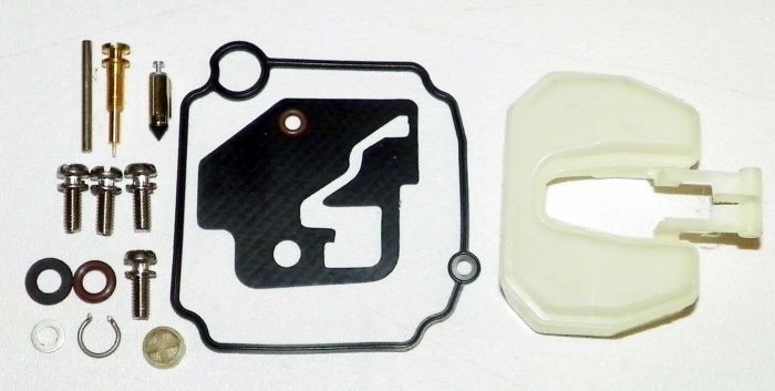 Mercury / Yamaha 9 9-15 Hp Carburetor Repair Kit With Float